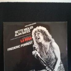 Discos de vinilo: LP BETTE MIDLER - LA ROSA - BANDA SONORA ORIGINAL, 1979 ESPAÑA. Lote 280397213