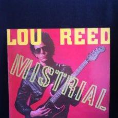 Discos de vinilo: LP LOU REED - MISTRIAL (LP, ALBUM), 1986 ESPAÑA, EXCELENTE ESTADO, COMO NUEVO. Lote 280405513