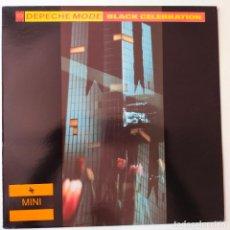Discos de vinilo: DEPECHE MODE- BLACK CELEBRATION- SPAIN LP 1986 + ENCARTE- EXC. ESTADO.. Lote 280417368