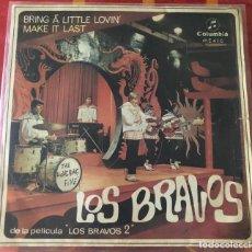 """Discos de vinilo: LOS BRAVOS """"BRING A LITTLE LOVIN´"""", SINGLE 7"""" DE 1967. Lote 280460368"""
