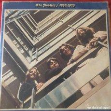 Discos de vinilo: BEATLES 1967-1970 2LPS EDICIÓN ITALIANA 1975. Lote 280460683