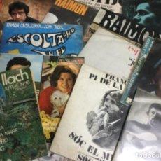 Discos de vinilo: LOT 17 SINGLES MÚSICA CATALANA LLACH, RAIMON, PI DE LA SERRA, ISIDOR, ALBERO, ARNELLA, MONTLLOR.... Lote 280482898