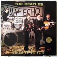 Discos de vinilo: THE BEATLES.FROM US TO YOU...BOX 3 LPS...SWINGUIN´ PIG...EX+. Lote 280495933