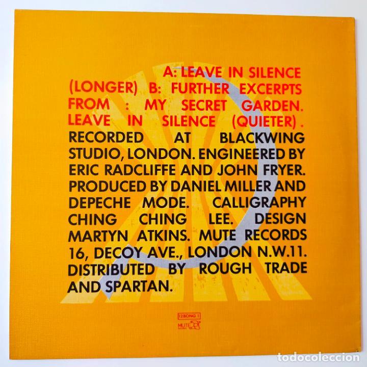 Discos de vinilo: DEPECHE MODE- LEAVE IN SILENCE- UK MAXI SINGLE 1982- VINILO CASI NUEVO. - Foto 2 - 280504243