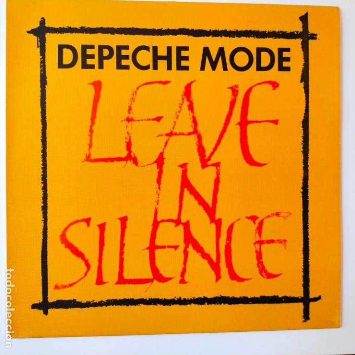 DEPECHE MODE- LEAVE IN SILENCE- UK MAXI SINGLE 1982- VINILO CASI NUEVO. (Música - Discos de Vinilo - Maxi Singles - Pop - Rock - New Wave Internacional de los 80)