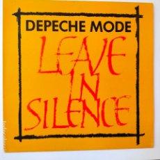Discos de vinilo: DEPECHE MODE- LEAVE IN SILENCE- UK MAXI SINGLE 1982- VINILO CASI NUEVO.. Lote 280504243