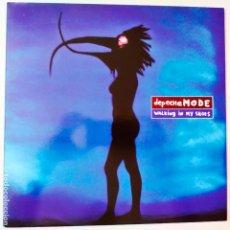 Discos de vinilo: DEPECHE MODE- WALKING IN MY SHOES- UK MAXI SINGLE 1993- VINILO COMO NUEVO.. Lote 280508553