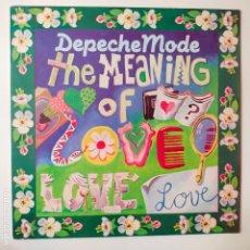 Discos de vinilo: DEPECHE MODE - THE MEANING OF LOVE- UK MAXI SINGLE 1982- VINILO COMO NUEVO.. Lote 280513158