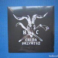 Discos de vinilo: LP - HARDCORE - CRIDA SALVATGE - BARCELONA - PRECINTADO. Lote 280529298