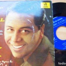 Discos de vinilo: LUCHO GATICA. CAMINITO ... Y OTROS TANGOS -ODEON 1962 EP 45 RPM. Lote 280611193