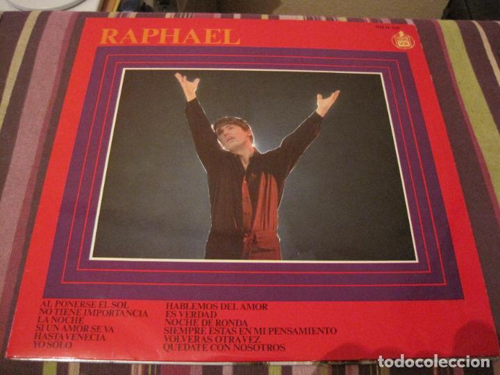 LP RAPHAEL AL PONERSE EL SOL HISPAVOX 11 125 1967 (Música - Discos - LP Vinilo - Solistas Españoles de los 50 y 60)