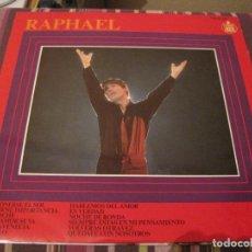Discos de vinilo: LP RAPHAEL AL PONERSE EL SOL HISPAVOX 11 125 1967. Lote 280628408