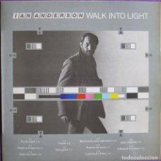 Discos de vinil: JETHRO TULL / IAN ANDERSON: WALK INTO LIGHT. SU PRIMER LP EN SOLITARIO. Lote 280636683