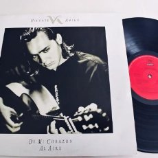 Discos de vinilo: VICENTE AMIGO-LP DE MI CORAZON AL AIRE-NUEVO. Lote 280654138