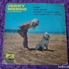 """Discos de vinilo: JERRY MENGO Y SU ORQUESTA – CHARIOT ,VINYL 7"""", EP 1963 SPAIN 7 EPL 3.883. Lote 280719573"""