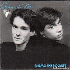 Discos de vinilo: COSA DE DOS - MAMA NO LO SABE / SINGLE WEA / BUEN ESTADO RF-5002. Lote 280721953