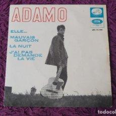 "Discos de vinilo: ADAMO – ELLE ,VINYL 7"", EP 1965 SPAIN 7EPL 14.144. Lote 280729028"
