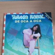 Discos de vinilo: ANTIGUO LP TERESA RABAL. Lote 280761788