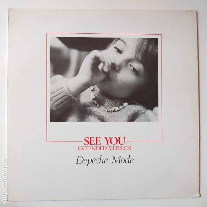 DEPECHE MODE- SEE YOU (EXTENDED VERSION) - UK MAXI SINGLE 1982 - VINILO COMO NUEVO. (Música - Discos - LP Vinilo - Pop - Rock Internacional de los 90 a la actualidad)
