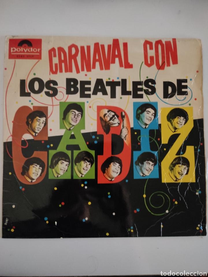 CARNAVAL CON LOS BEATLES DE CÁDIZ (Música - Discos - LP Vinilo - Grupos Españoles 50 y 60)