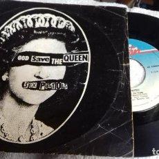Disques de vinyle: SEX PISTOLS GOOD SAVE THE QUEEN .. Lote 280821158