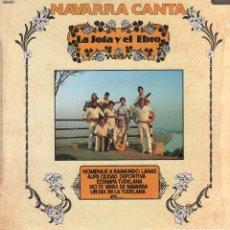 Discos de vinilo: NAVARRA CANTA - LA JOTA Y EL EBRO - HOMENAJE A RAIMUNDO LANAS / LP DIAL 1981 RF-9991. Lote 280829858