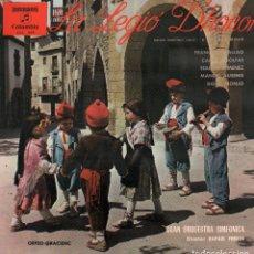 Discos de vinilo: LA LEGIÓ D'HONOR - GRAN ORQUESTRA SIMFONICA / DIR. RAFAEL FERRER / LP COLUMBIA DE 1973 RF-9992. Lote 280830113