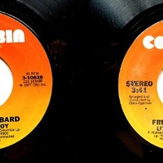 Discos de vinil: FREDDIE HUBBARD: BUNDLE OF JOY +1 / LITTLE SUNFLOWER +1 -2 SINGLES-1977 / 1979 -COLUMBIA(USA)-NUEVOS. Lote 280847248