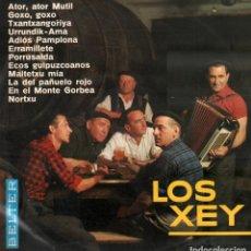 Disques de vinyle: LOS XEY - ATOR, ATOR MUTIL, GOXO, GOXO, ERRAMILLETE, PORRUSALDA.../ LP BELTER DE 1966 RF-10004. Lote 280864903