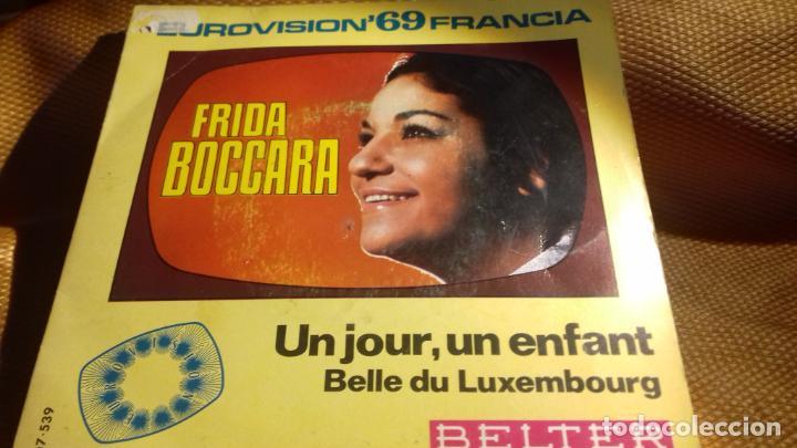 FRIDDA BOCCARA EUROVISION FRANCA 1969 (Música - Discos - Singles Vinilo - Festival de Eurovisión)