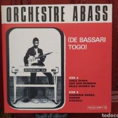 Discos de vinilo: ORCHESTRE ABASS-ORCHESTRE ABASS (DE BASSARI TOGO) LP VINILO PRECINTADO. ANALOG AFRICA. Lote 280932993