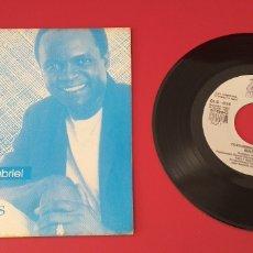 Discos de vinilo: SINGLE VINILO BASILIO-COSTUMBRES (CANTA A JUAN GABRIEL). Lote 280941993