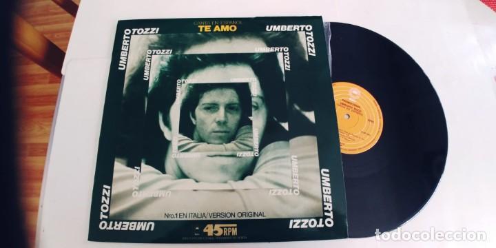 UMBERTO TOZZI-MAXI TE AMO-EN ESPAÑOL (Música - Discos de Vinilo - Maxi Singles - Canción Francesa e Italiana)