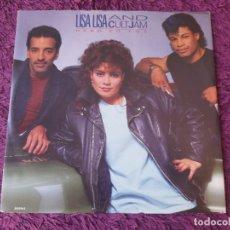 Discos de vinilo: LISA LISA AND CULT JAM – HEAD TO TOE ,VINYL MAXI-SINGLE 1987 UK CBS 650520 6. Lote 281000453