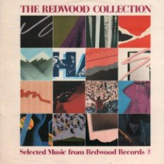 Discos de vinilo: THE REDWOOD COLLECTION - SELECTED MUSIC FROM REDWOOD RECORDS / LP 1986 RF-10030. Lote 281003413