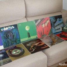Discos de vinilo: GRAN LOTE DE 11 LPS MÚSICA ELECTRÓNICA Y EXPERIMENTAL - DEPECHE MODE, KRAFTWERK, TANGERINE Y MÁS. Lote 281767553