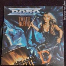 Discos de vinilo: DORO EX WARLOCK FORCE MAJEURE USA IMPORT CUT CORNER LP. Lote 281774398