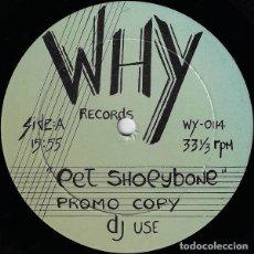 Discos de vinilo: PET SHOPYBONE / RARE FANTASY * MAXI VINILO * ULTRARARE * ITALO DISCO * USA 1988 * PROMO DJ USE. Lote 281806463