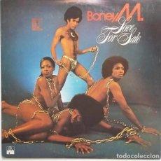 Discos de vinilo: BONEY M. * LP VINILO * LOVE FOR SALE * ESPAÑA 1977. Lote 281810848