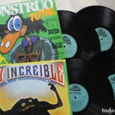 Discos de vinilo: LOTE MOSTRUO TOTAL Y SOY INCREIBLE 2LP DOBLES CADA UNO LPS VINILO MADE IN SPAIN 1985. Lote 281822853
