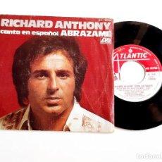 Discos de vinilo: DISCO VINILO 45 RPM RICHARD ANTHONY. Lote 281823443