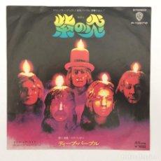 Discos de vinilo: DEEP PURPLE – BURN / MIGHT JUST TAKE YOUR LIFE JAPAN,1974 WARNER BROS RECORDS. Lote 281953203
