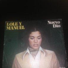 Discos de vinilo: LOLE Y MANUEL - SINGLE VINILO. Lote 281970283