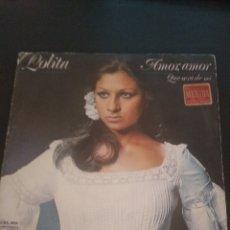 Discos de vinilo: LOLITA SINGLE VINILO. Lote 281970498