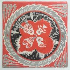 Discos de vinilo: KISS – HARD LUCK WOMAN / CALLING DR. LOVE / BETH, UK 1976 CASABLANCA. Lote 281993518