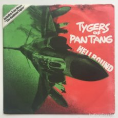 """Discos de vinilo: TYGERS OF PAN TANG – HELLBOUND, 2 X 7"""", UK 1981 MCA RECORDS. Lote 281993673"""
