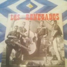 Discos de vinil: LOS RENEGADOS.MIRANDO LA LUNA / ATURDIDO / DIME TU / ATRAPADO POR EL R'N'R.NOSE.NS-009-EP.1991.. Lote 282077328