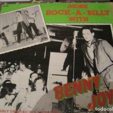 Discos de vinilo: LP BENNY JOY MORE ROCKABILLY WITH...WHITE LABEL 8825. Lote 282169928