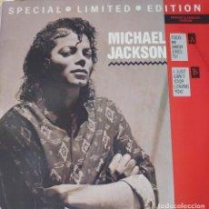 Discos de vinilo: MICHAEL JACKSON CANTA EN ESPAÑOL MAXI-SINGLE SELLO CBS EDITADO EN USA AÑO 1988. Lote 282196258