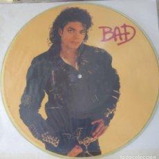 Discos de vinilo: MICHAEL JACKSON PICTURE DISC EDITADO EN USA AÑO 1987. Lote 282196748